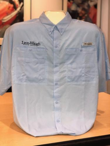 Light Blue Columbia Shirt
